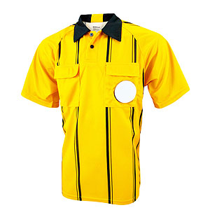 Kwik Goal Premier Referee Jersey - Yellow 15B6-Yellow