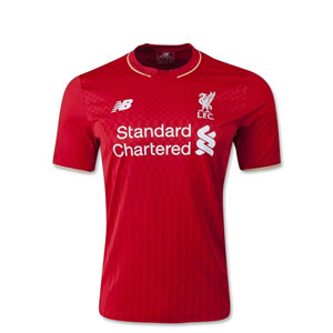 New Balance Liverpool Youth Home Jersey 2015-2016 WSTJ542