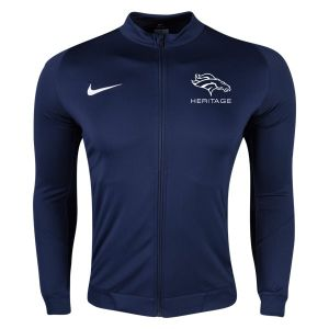 American Heritage Nike Youth Squad 16 Knit Track Jacket - Navy/White AH-726001-419