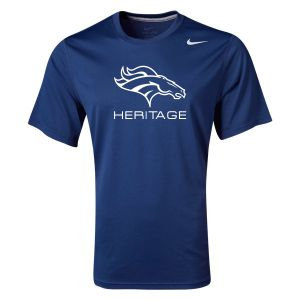 American Heritage Nike Team Legend Top - Navy/White AH-727982-419
