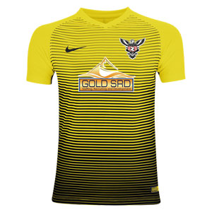 North Texas United FC Nike Precision IV Goalkeeping Jersey - University Gold/Black TUFC-886828-739
