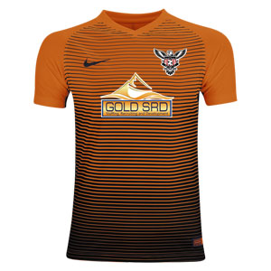 North Texas United FC Nike Precision IV Goalkeeping Jersey - Team Orange/Black TUFC-886828-891