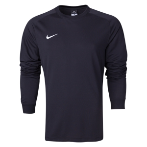 Nike Youth Long Sleeve Park Goalie II Jersey - Black 588441-010