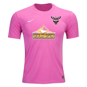North Texas United FC - West - Nike Youth Tiempo II Jersey - Pink 646399-657-TUFC