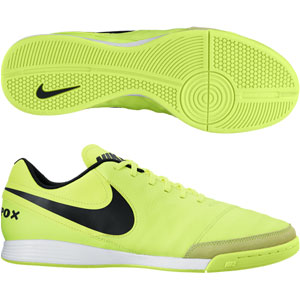 Nike Tiempo Genio II Leather IC - Volt/Black Indoor 819215-707