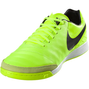 Nike Tiempo Mystic V IC - Volt/Black Indoor 819222-707