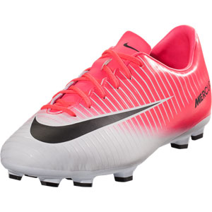 Nike Junior Mercurial Victory VI FG - Racer Pink/Black/White 831945-601