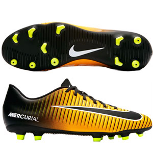Nike Mercurial Vortex III FG - Laser Orange/Black 831969-801