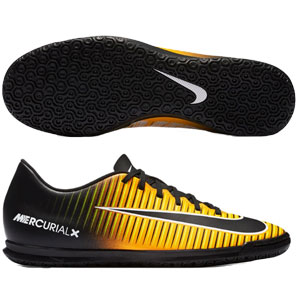 Nike MercurialX Vortex III IC - Laser Orange/Black Indoor 831970-801