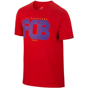 Nike Barcelona Red T-Shirt 832776-687