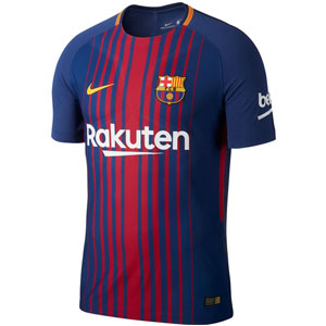 Nike Barcelona Authentic Home Jersey 2017-2018 847190-456
