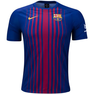 Nike Barcelona Training Top - Deep Royal Blue 847238-457