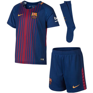 Nike Barcelona Kids Home Kit 2017-2018 847355-457