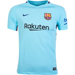 Nike Barcelona Youth Away Jersey 2017-2018 847386-484