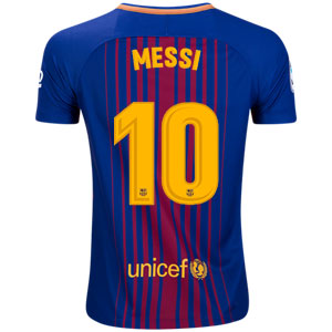 Nike Barcelona Messi Youth Home Jersey 2017-2018 847387-456Messi