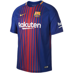 Nike Barcelona Youth Home Jersey 2017-2018 847387-456