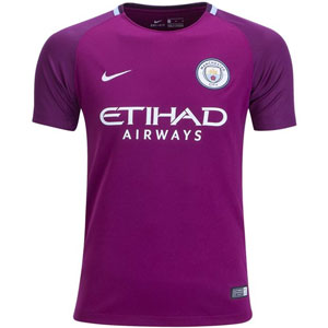 Nike Manchester City Youth Away Jersey 2017-2018 847402-667