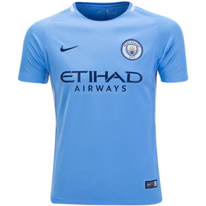 Nike Manchester City Youth Home Jersey 2017-2018 847403-489