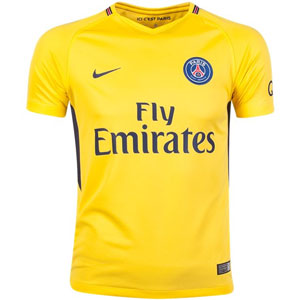 Nike Paris Saint-Germain Youth Away Jersey 2017-2018 847408-720