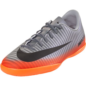 Nike Junior Mercurial Victory V CR7 IC - Cool Grey/Metallic Hematite Indoor 852488-001