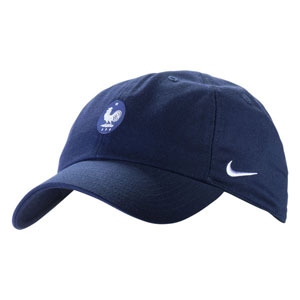 Nike France H86 Cap Core - Obsidian/White 881713451010101