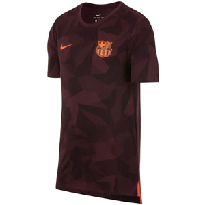 Nike Barcelona Dry Match Tee - Night Maroon 882441-681