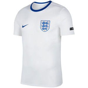 Nike England Tee Crest 2018 - White/Sport Royal 888328-100