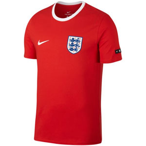 Nike England Tee Crest 2018 - Challenge Red/White 888328-600