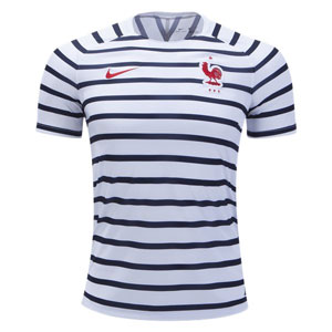 Nike France Pre Match Dry Squad Top 2018 893358-100