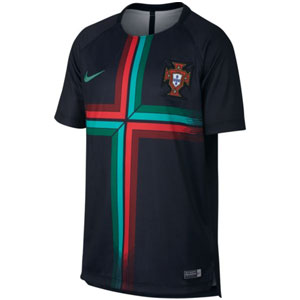 Nike Portugal Youth Pre Match Squad Top 2018 893715-010