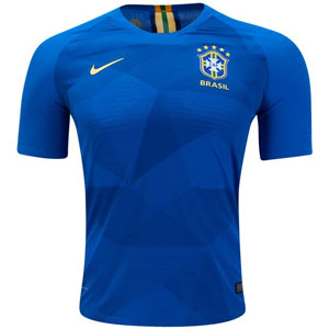 Nike Brasil Authentic Away Jersey 2018 893857-453