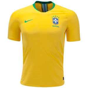 Nike Brasil Authentic Home Jersey 2018 893858-749