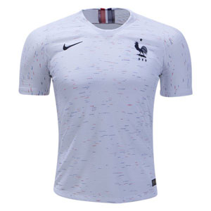 Nike France Authentic Away Jersey 2018 893873-100