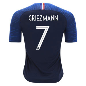 Nike Griezmann France Authentic Home Jersey 2018 893874-451-Griezmann