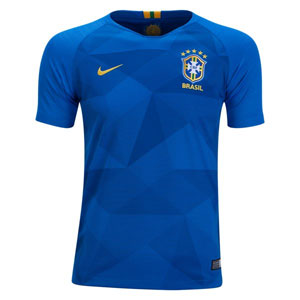 Nike Brasil Youth Away Jersey 2018 893969-453