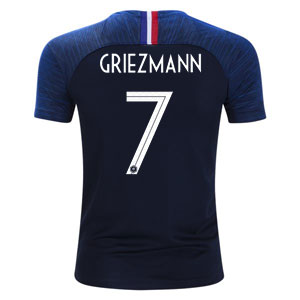 Nike Griezmann France Youth Home Jersey 2018 893989-451-Griezmann
