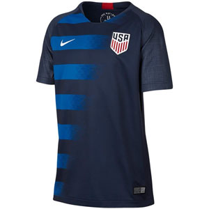 Nike USA Youth Away Jersey 2018 894023-410