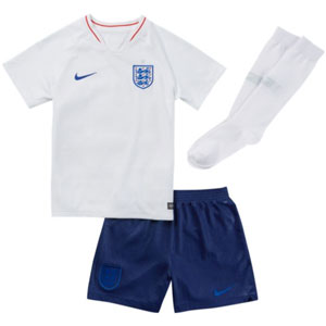 Nike England Kids Home Kit 2018 894041-100
