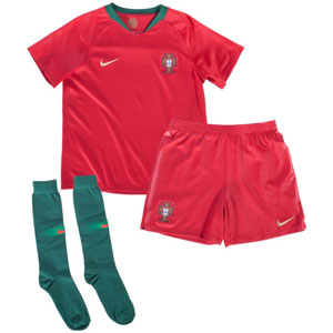Nike Portugal Kids Home Kit 2018 894045-687