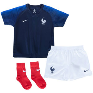Nike France Kids Home Kit 2018 894057-451