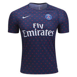 Nike Paris Saint-German Pre-Match Graphic Jersey 894327-411