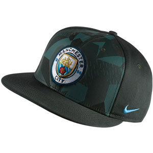 Nike Manchester City True Cap - Vintage Green/Black 894380382010101