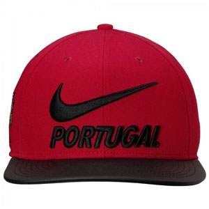 Nike Pro Portugal True Snapback Hat - Gym Red/Black 897388677010101