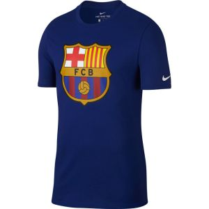 Nike Barcelona Deep Royal Blue Crest Tee 2017 898621-455