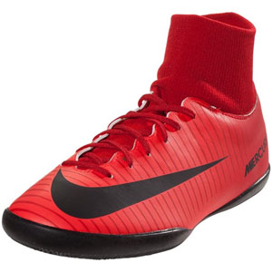 Nike Junior Mercurial X Victory VI DF IC - University Red/Black Indoor 903599-616
