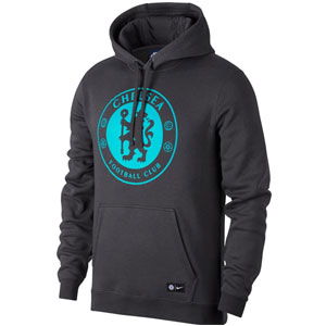 Chelsea FC Hoodie - Anthracite/Omega Blue 905497-064