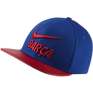Nike Barcelona Pro Cap Pride - Deep Royal Blue/Noble Red 916568455010101