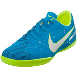 7adb21a7fc7b Nike Junior Mercurial Victory VI NJR IC - Blue Orbit White Indoor 921493-400