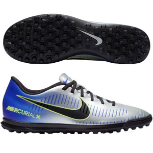 Nike MercurialX Vortex III NJR TF - Racer Blue/Chrome/Volt Turf 921519-407