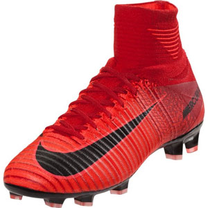 Nike Junior Mercurial Superfly V DF FG - University Red/Black 921526-616